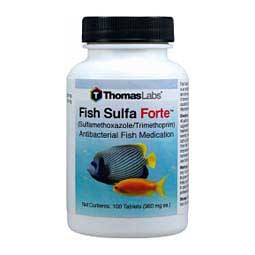 Fish Sulfa Fish Antibiotic Thomas Labs